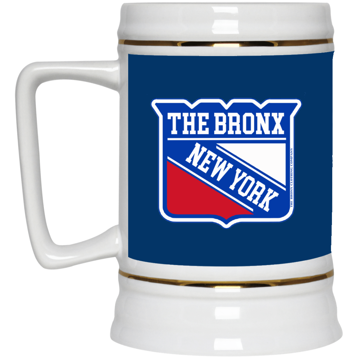 The Bronx Hockey Beer Stein 22oz.