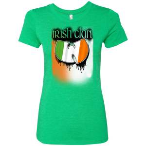 Irish Clan - Celtic Warrior Ladie's Tee