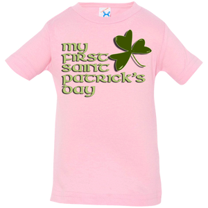 Celtic Warrior- My 1st St. Patrick's Day Infant Jersey T-Shirt