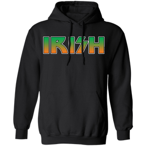 Celtic Warrior - Irish Rocker Pullover Hoodie 8 oz.