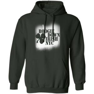 Boogie Down Spray - Irish Series - Pullover Hoodie 8 oz.