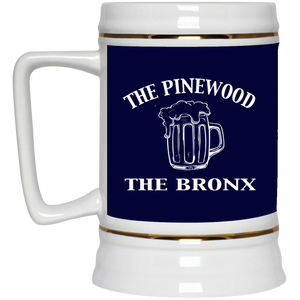The Pinewood - Bars Of The Bronx Beer Stein 22oz.
