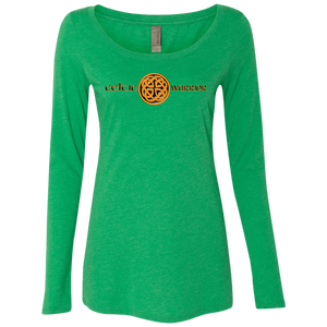 Celtic Warrior Knot Woman's Long Sleeve Tee