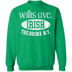 Willis Ave. - Irish Series - Crewneck Pullover Sweatshirt  8 oz.