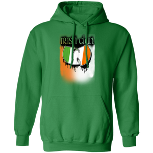 Irish Clan - Celtic Warrior Pullover Hoodie 8 oz.