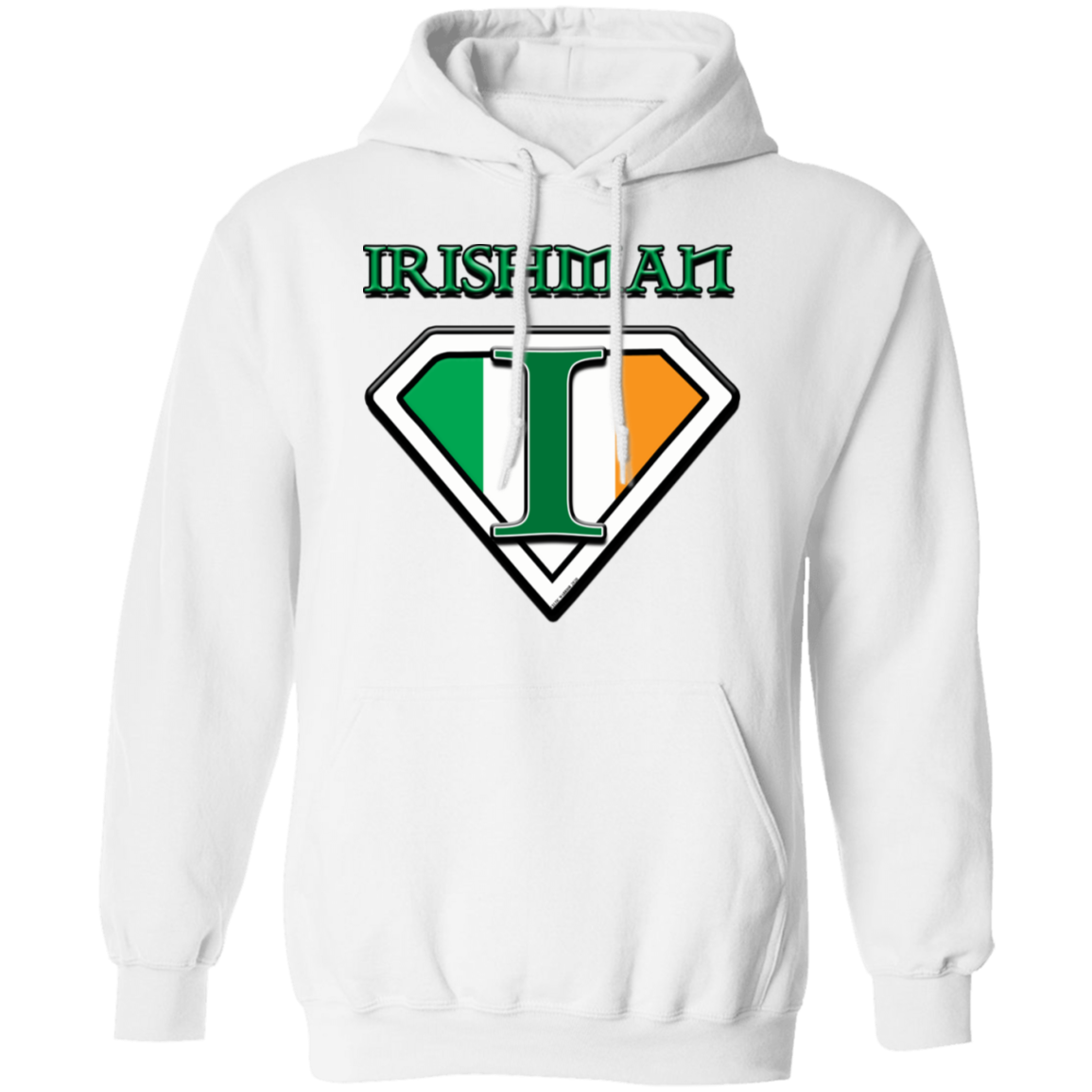 Celtic Warrior - Irishman Pullover Hoodie 8 oz.