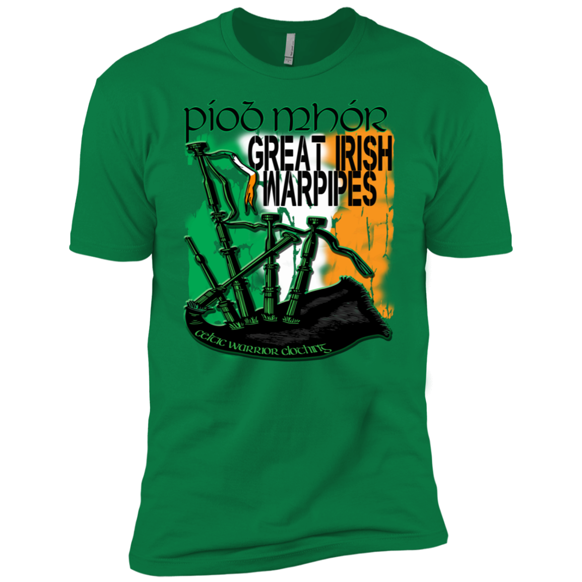 Celtic Warrior - Warpipe T-Shirt
