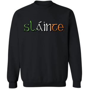 Celtic Warrior - Slainte Crewneck Pullover Sweatshirt  8 oz.