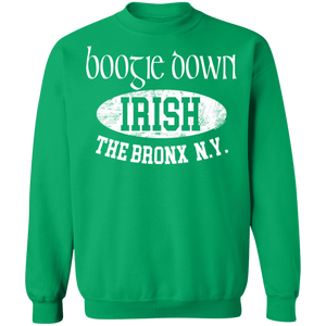 Boogie Down - Irish Series - Crewneck Pullover Sweatshirt  8 oz.