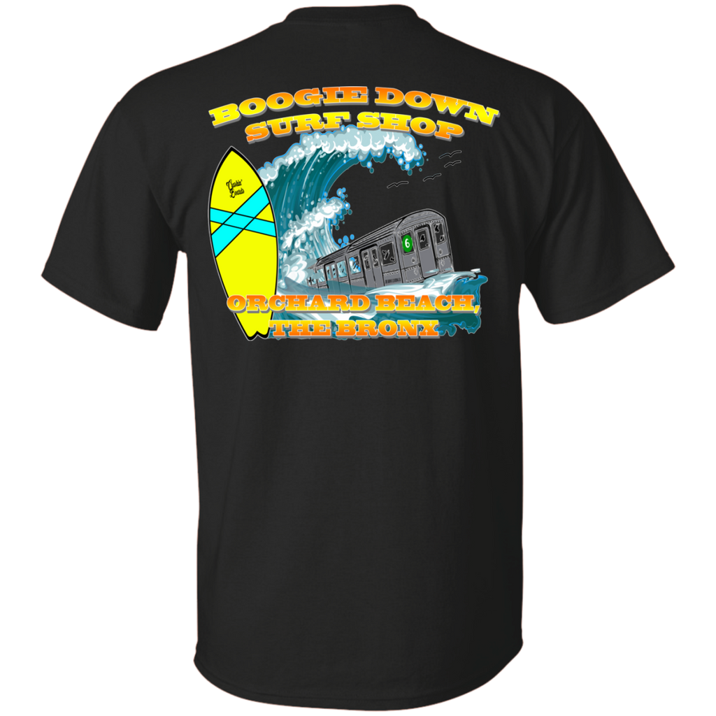 BOOGIE DOWN SURF SHOP TEE (Dark Colors)