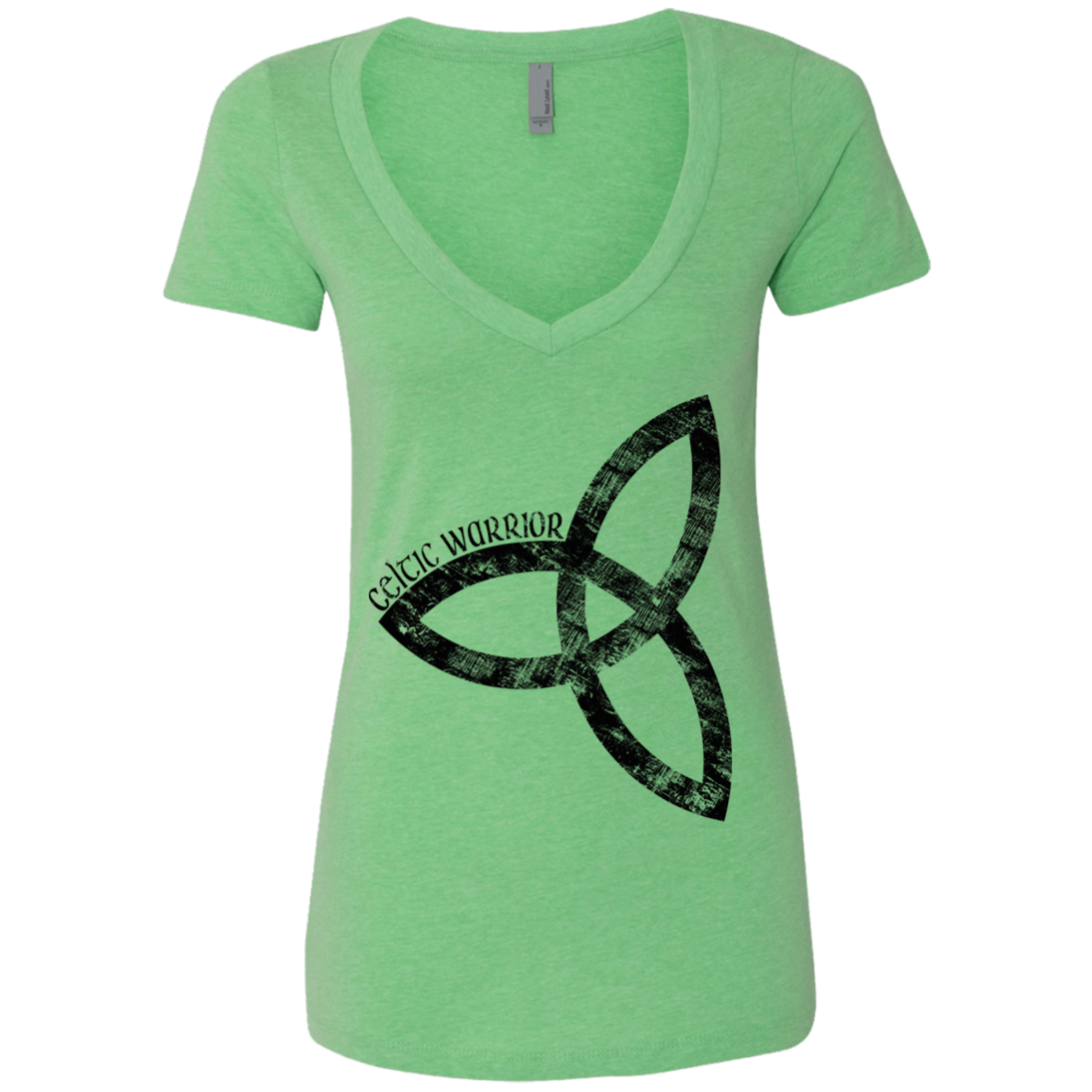 Celtic Warrior CK Ladies' Deep V-Neck T-Shirt