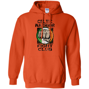 Celtic Warrior Fight Club Pullover Hooded Sweatshirt