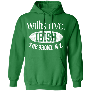 Willis Ave. - Irish Series - Pullover Hoodie 8 oz.