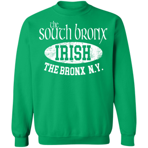 South Bronx - Irish Series - Crewneck Pullover Sweatshirt  8 oz.