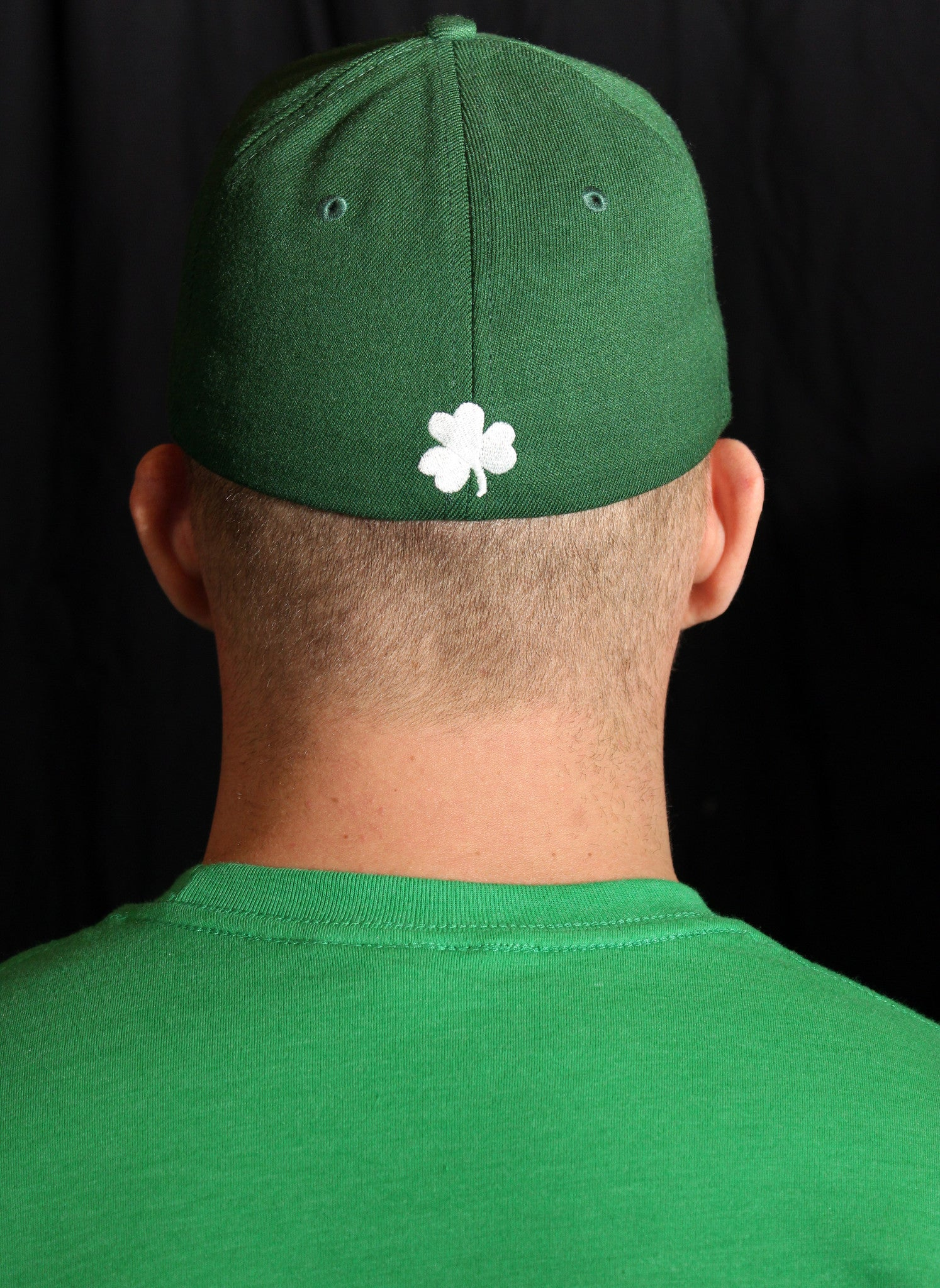 The Bronx Clothing Company Green Flex Fit Cap