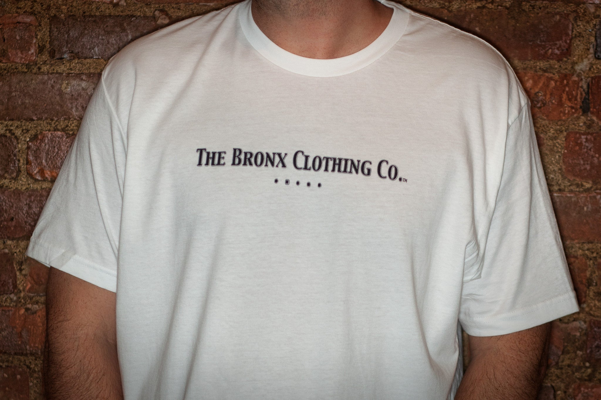 The Bronx Clothing Co. Men's White Tee