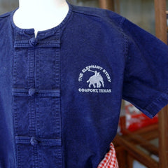 Child's Mahout Outfit with Frog Buttons