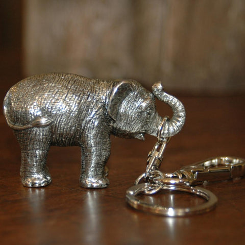 Manop Rachote Elephant Key Chain