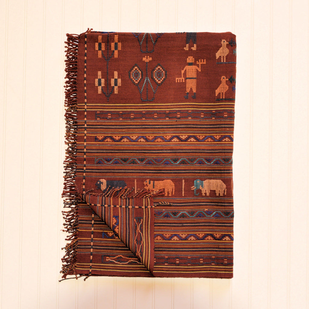 Naga Blanket with Embroidery | The Elephant Story