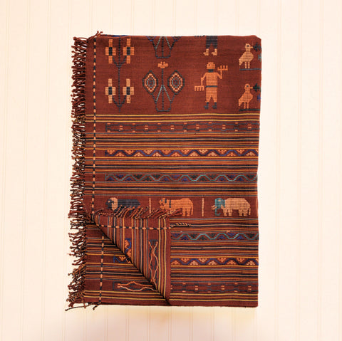 Naga Blanket with Embroidery