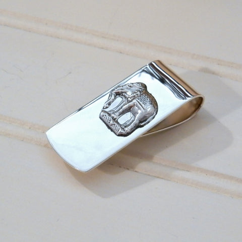 Sterling Silver Elephant Money Clip