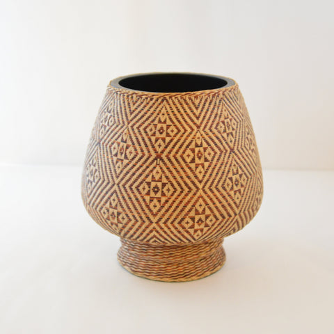 Nan Weave Monk's Bowl (Diamond pattern)