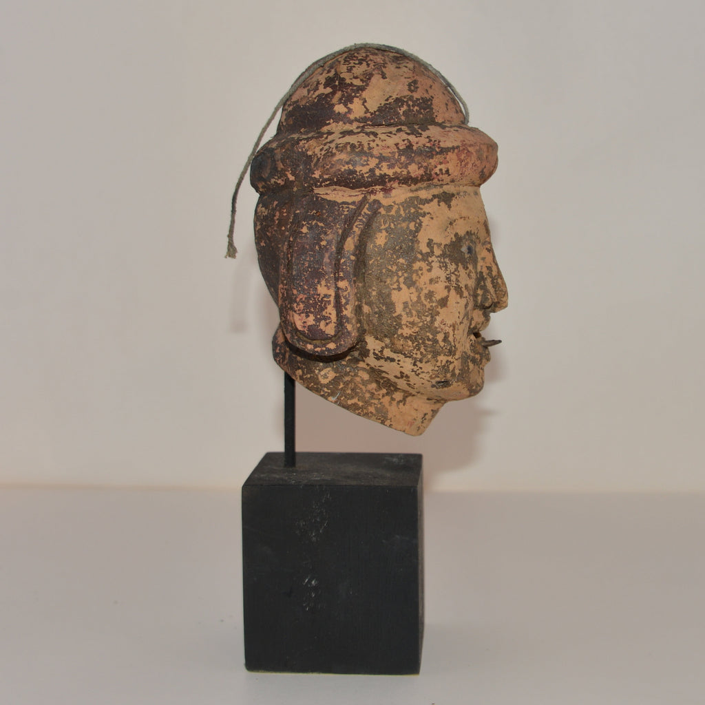 Antique Burmese Puppet Head