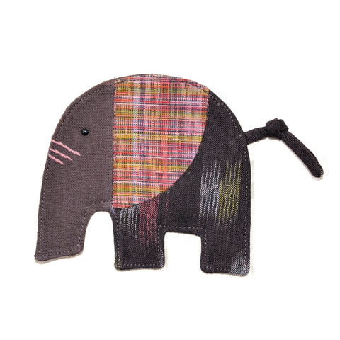 Cotton Elephant Coaster - Brown