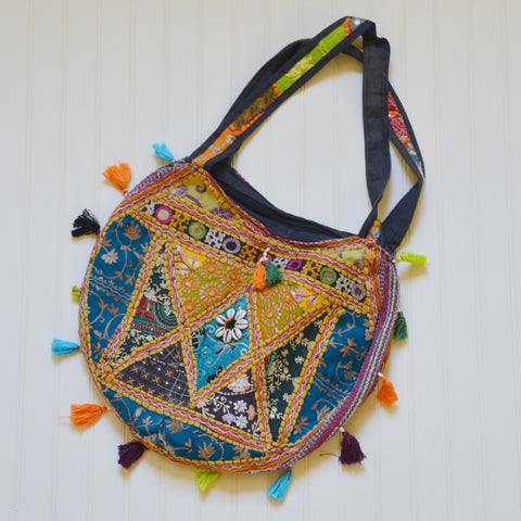 Semi Circle Hill Tribe Purse