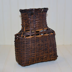 Antique Bamboo Basket