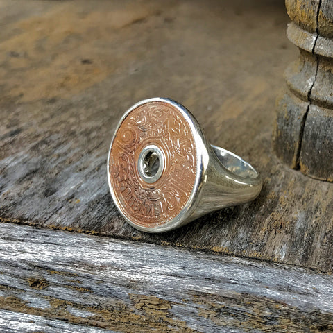 Thai Copper Coin Ring