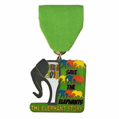 FIESTA 2018 San Antonio Commemorative The Elephant Story Medal