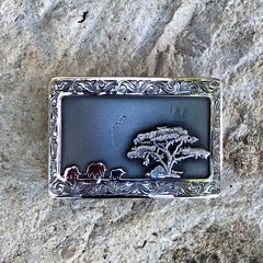 Clint Orms Belt Buckle - Young 1800