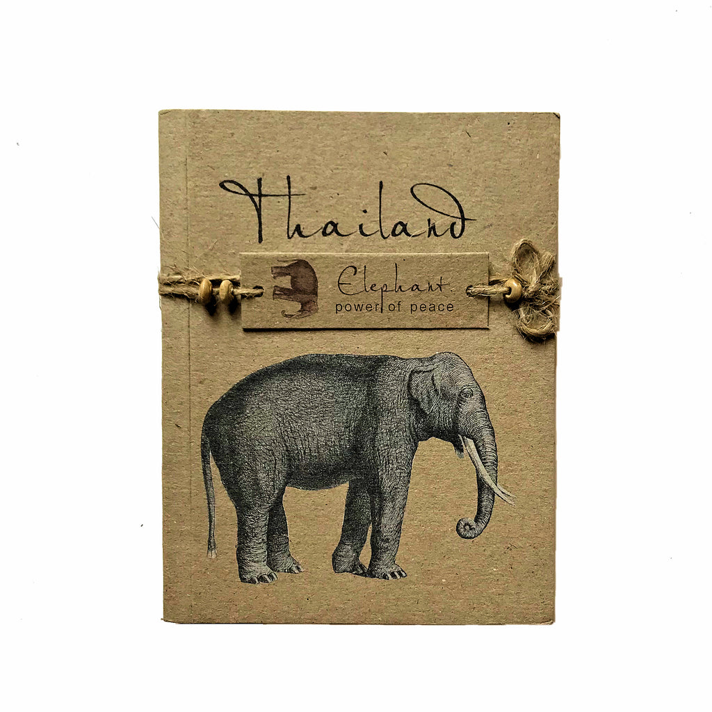 Thailand Elephant Notepad - Medium