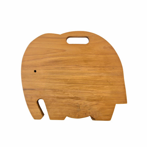 Wood Elephant Cutting Board