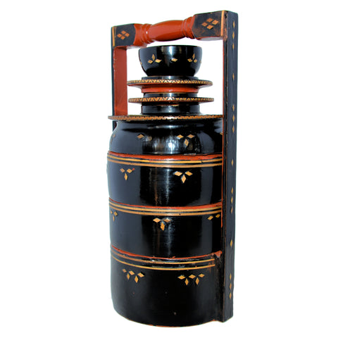 Burmese Lacquer Food Box