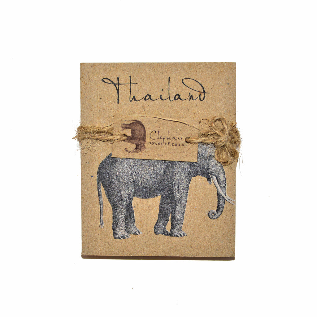 Thailand Elephant Notepad - Small