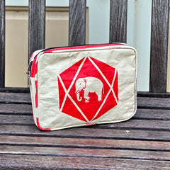 Elephant Cement Cosmetic Bag