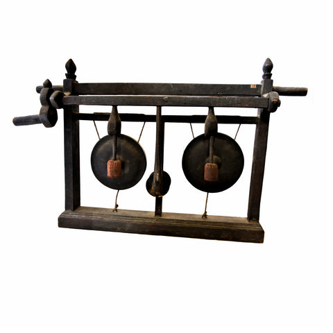 Thai Double Gong with Handle