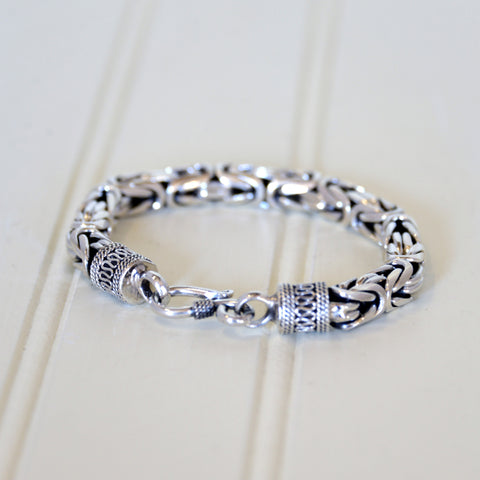 Mens Borobudur Chain Bracelet (heavy thickness)