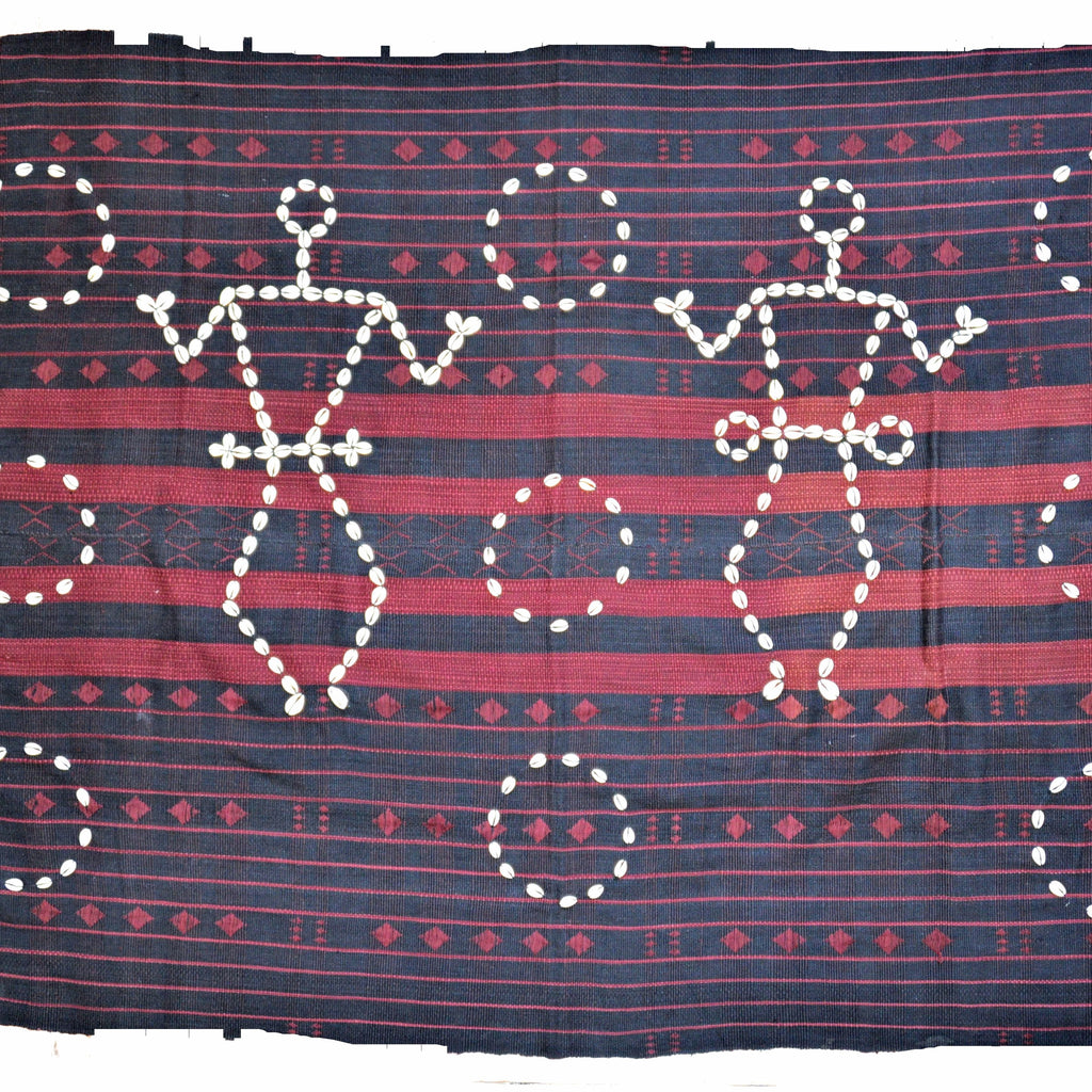Naga Blanket with Cowry Shells