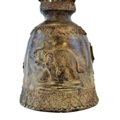 Elephant Temple Bell on Stand