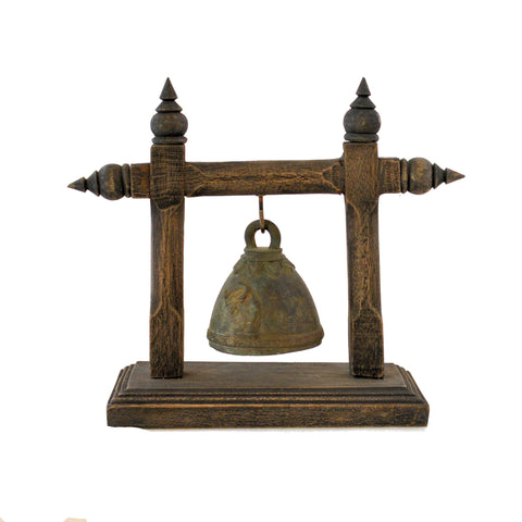 Elephant Bell on Stand