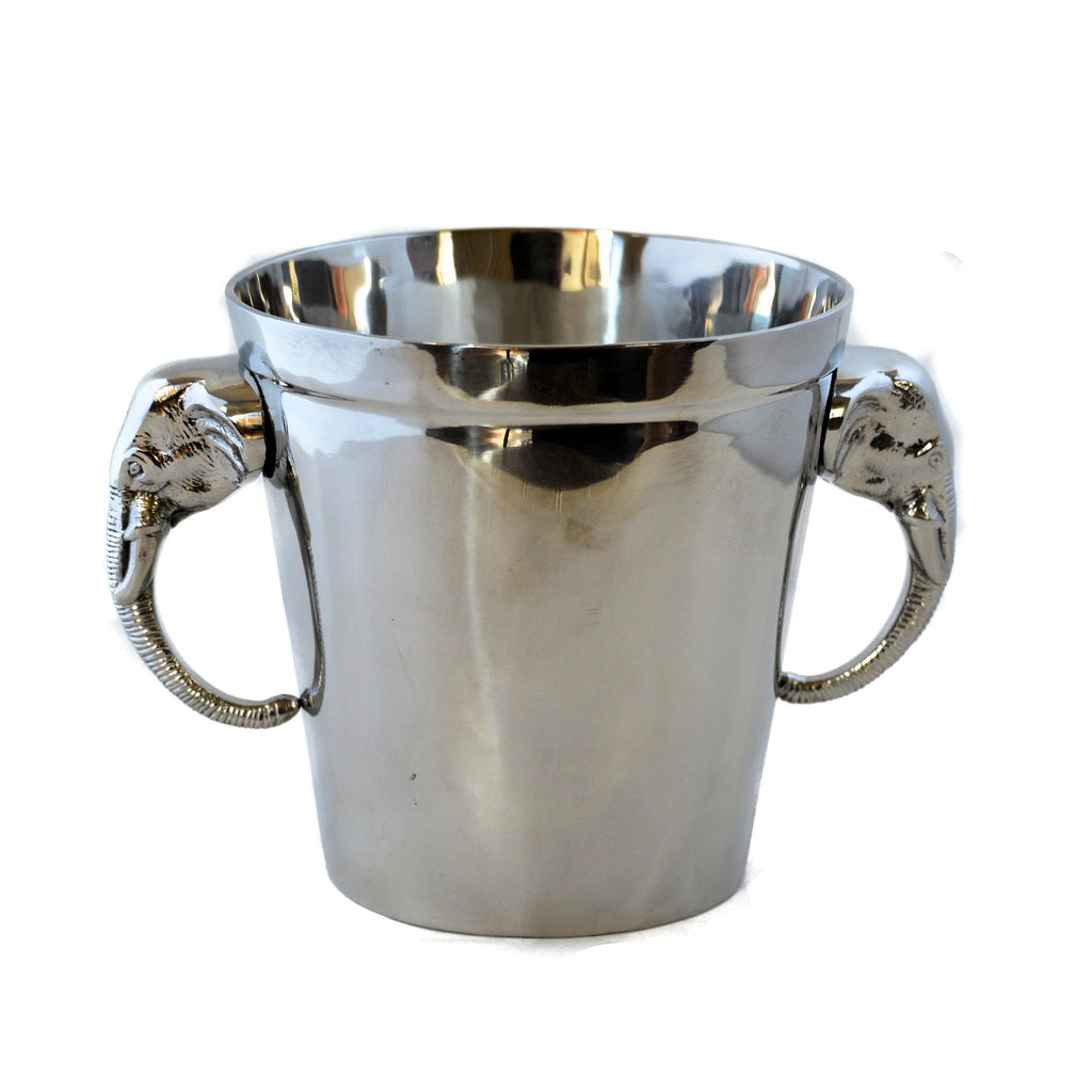 Stainless Steel Elephant Ice Bucket
