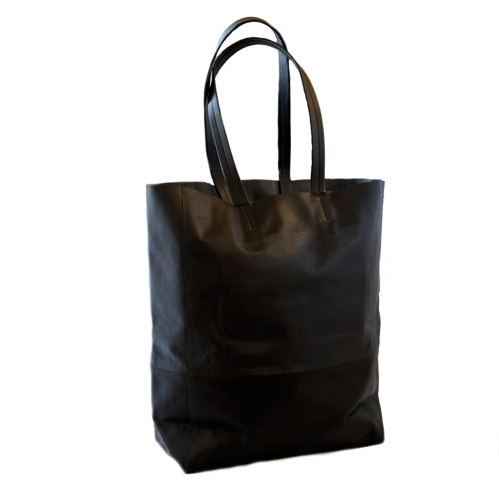 Olivia Dar Two-Tone Tote Bag (Black & Navy)