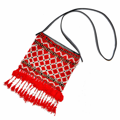 Hand-Beaded Thoran Small Bag
