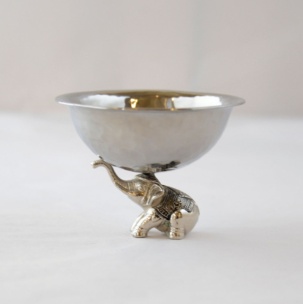 Stainless Steel Elephant Balancing Bowl