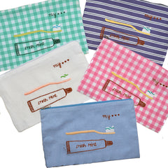 Zippered Toothbrush Bag