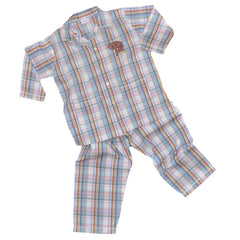 Cotton Pajamas with Embroidered Elephant (7 Year Old)