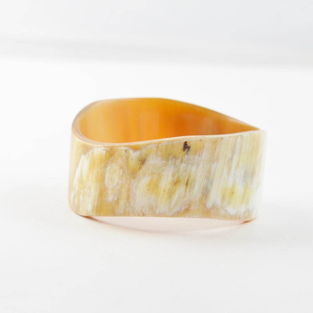 Water Buffalo Horn Bangle